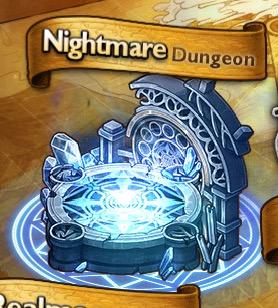 Il simbolo dei Nightmare Dungeon