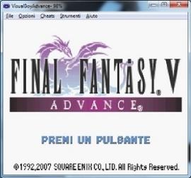 final fantasy v rom