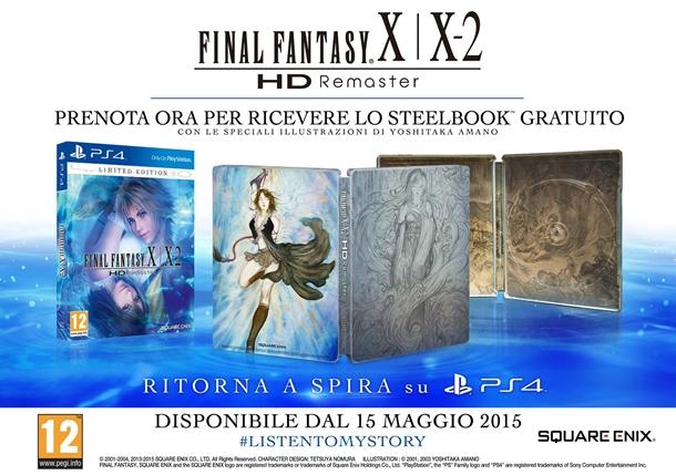 Final Fantasy X|X-2 HD Remaster su PS4