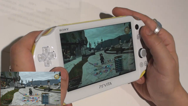 Final Fantasy XIV Online - Remote Play on PS Vita