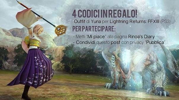 Contest! In palio 4 outfit Invocatrice di Spira per Lightning Returns: FFXIII!