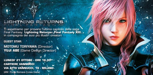Lightning Returns a Milano!