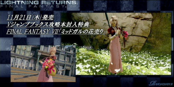 Aerith outfit in Lightning Returns: FFXIII