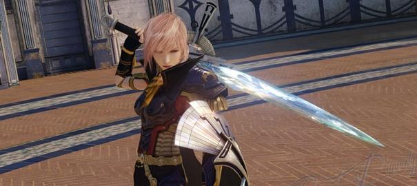 L'outfit Siegfried, da sbloccare completando la demo di Lightning Returns: FFXIII