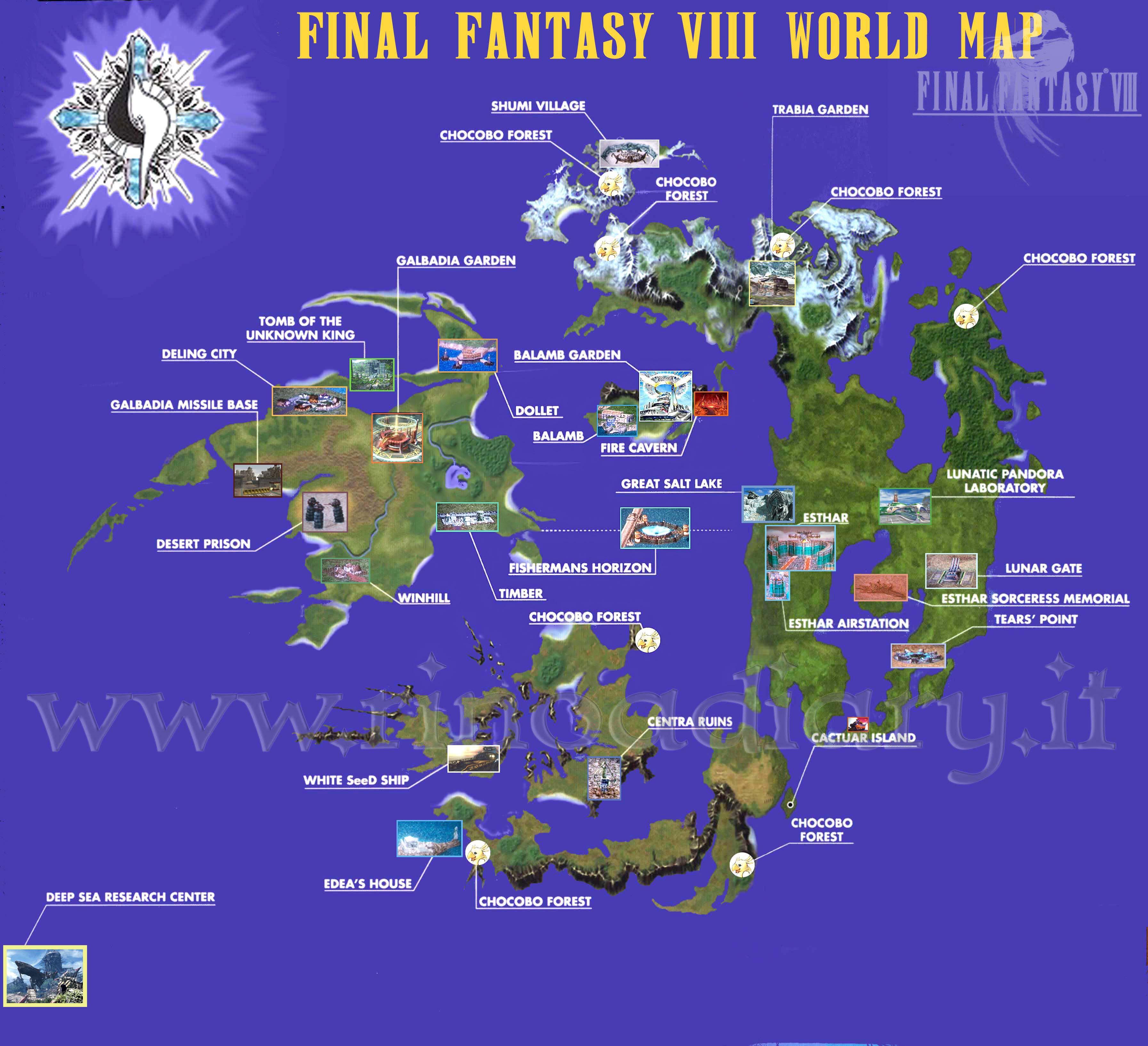 1 Map Ff8