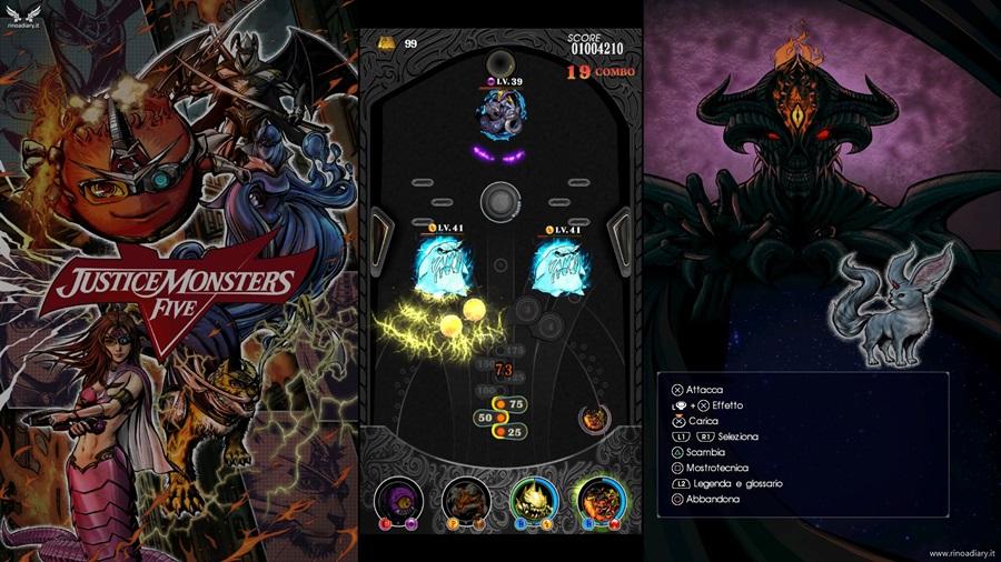 Justice Monsters Five su Final Fantasy XV