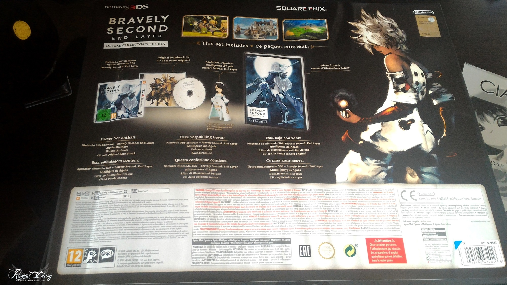 Bravely Second: End Layer - Deluxe Collector's Edition