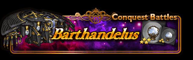 conquer barthandelus