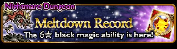 meltdown record banner