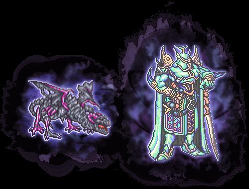 shield dragon e exdeath soul ultimate