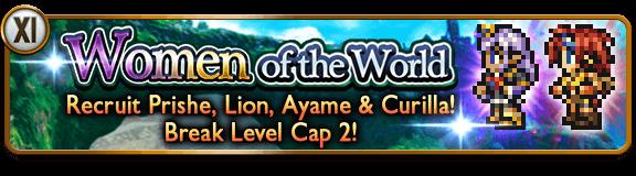 women of the world banner
