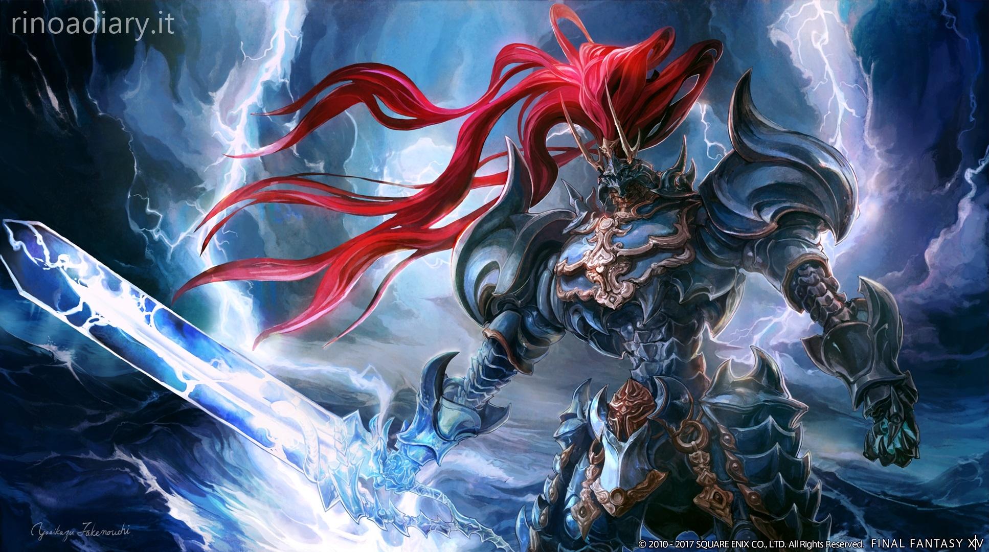 FFXIV: Stormblood - il Primal Susano