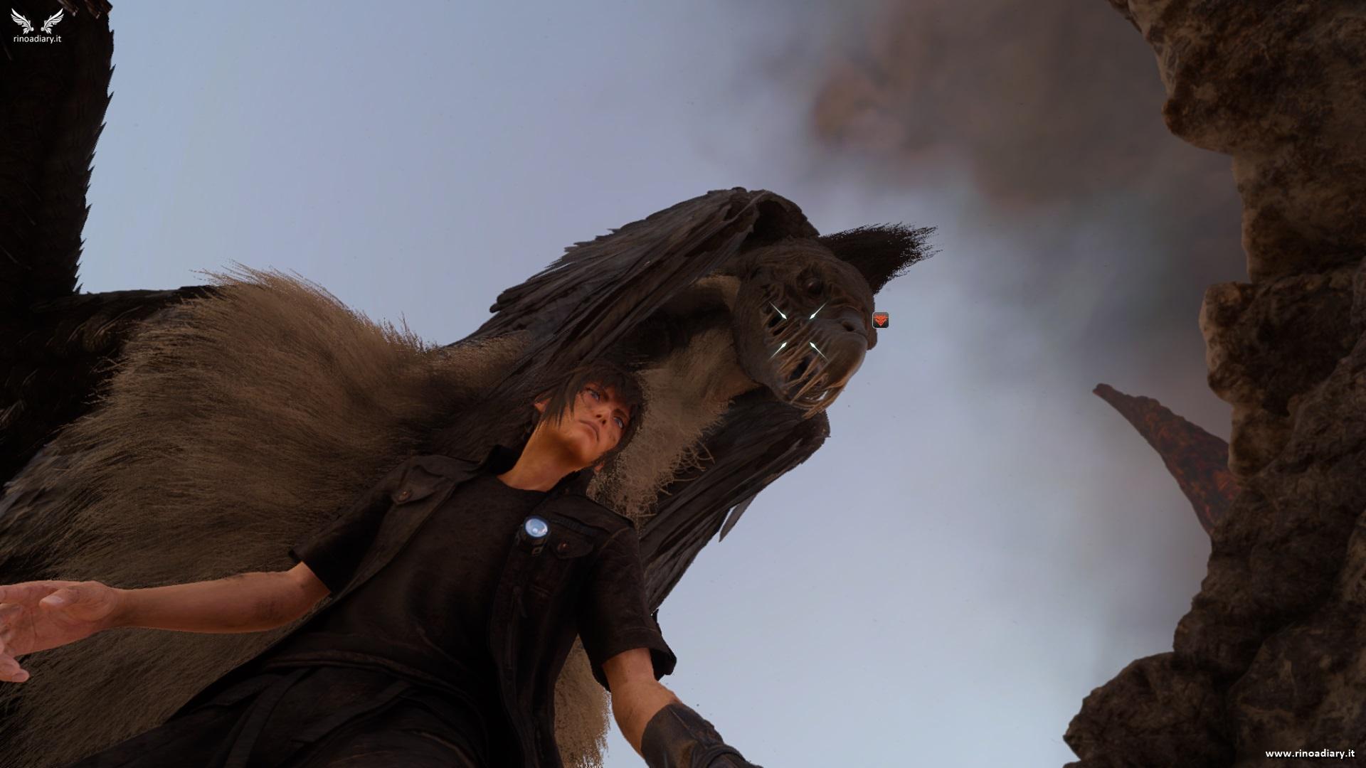 Richiesta di caccia - Il dominatore del vulcano - Final Fantasy XV