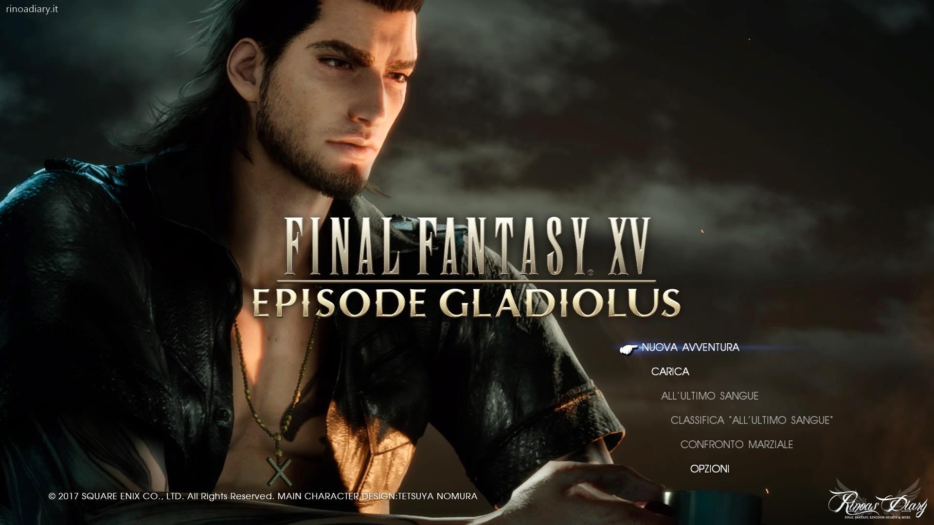 FFXV Episode Gladio