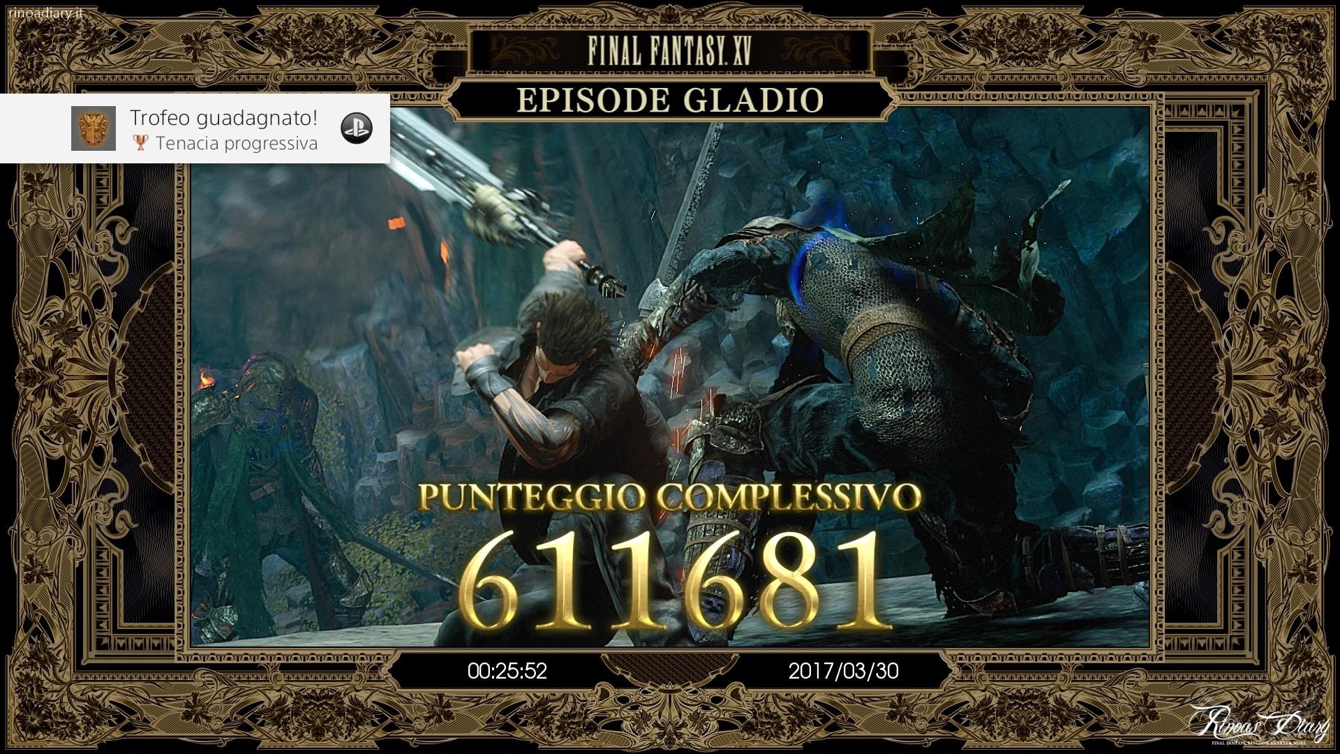 Trofeo Tenacia progressiva - Episode Gladio