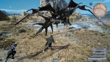 Final Fantasy XV - Missioni a tempo - Re Behemoth Nefasto #2