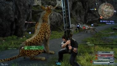FFXV - Gara di caccia #1 - Iaguaro e Iaguaro albino