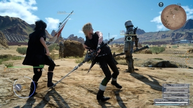 Final Fantasy XV - Link Attack tra Noctis e Prompto #2