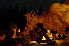 Final Fantasy XV - Sfamando e accudendo il Chocobo è possibile aumentare il loro livello