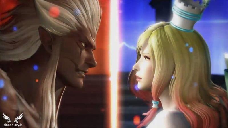 Spiritus e Materia, divinità di Dissidia Arcade Final Fantasy