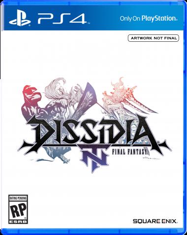 Dissidia NT Final Fantasy Box art
