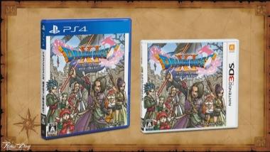 Dragon Quest XI - Cover giapponesi