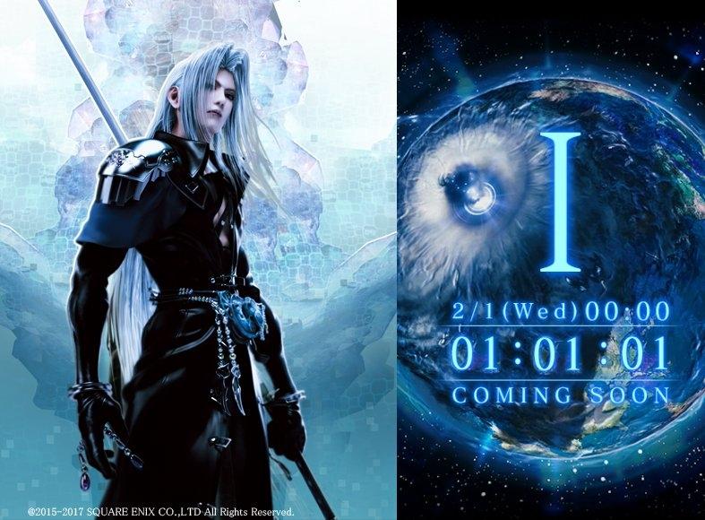 Sephiroth (FFVII Remake) sarà presente nell\'evento speciale di Mobius Final Fantasy