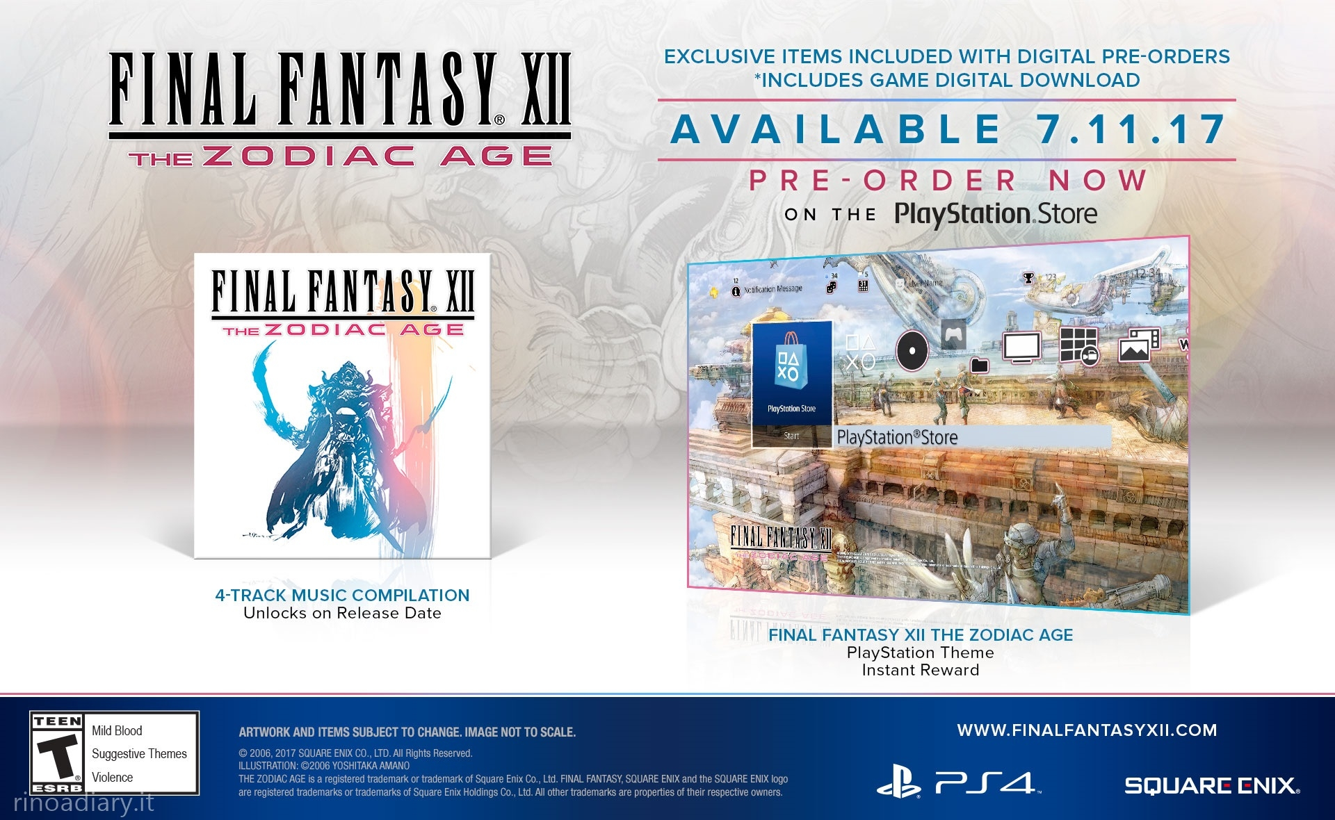 Final Fantasy XII: The Zodiac Age - Exclusive Digital Edition