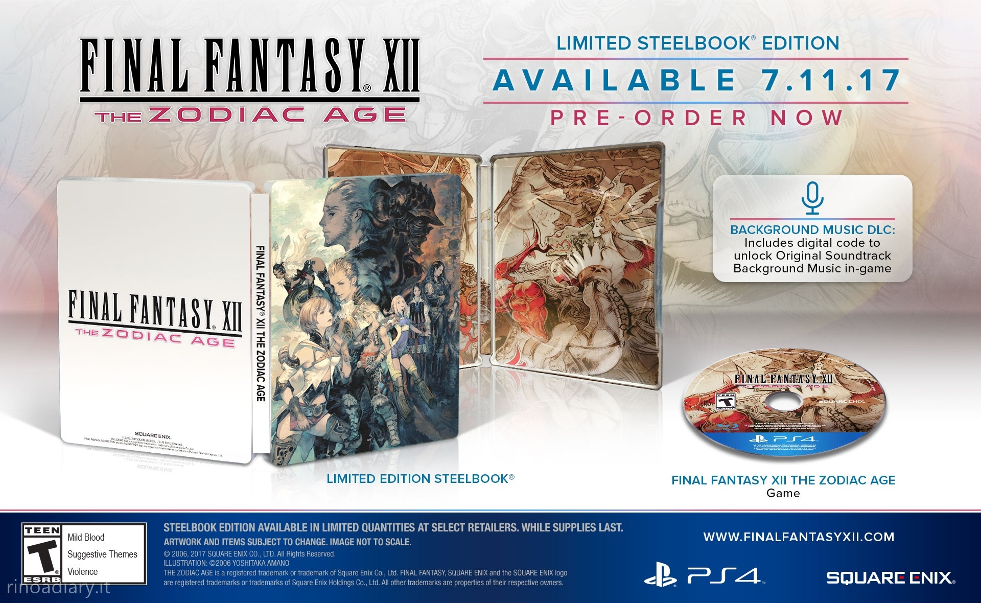 Final Fantasy XII: The Zodiac Age - Limited Edition