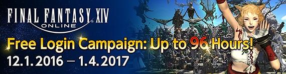 Final Fantasy XIV - Free Login!