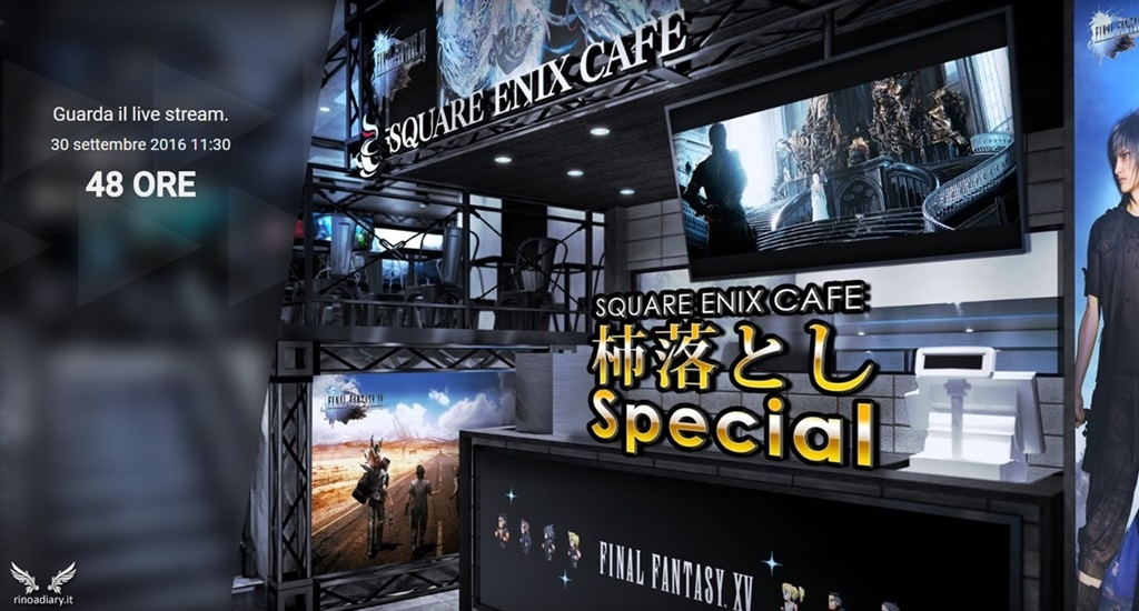 Final Fantasy XV ATR - Square-Enix Café