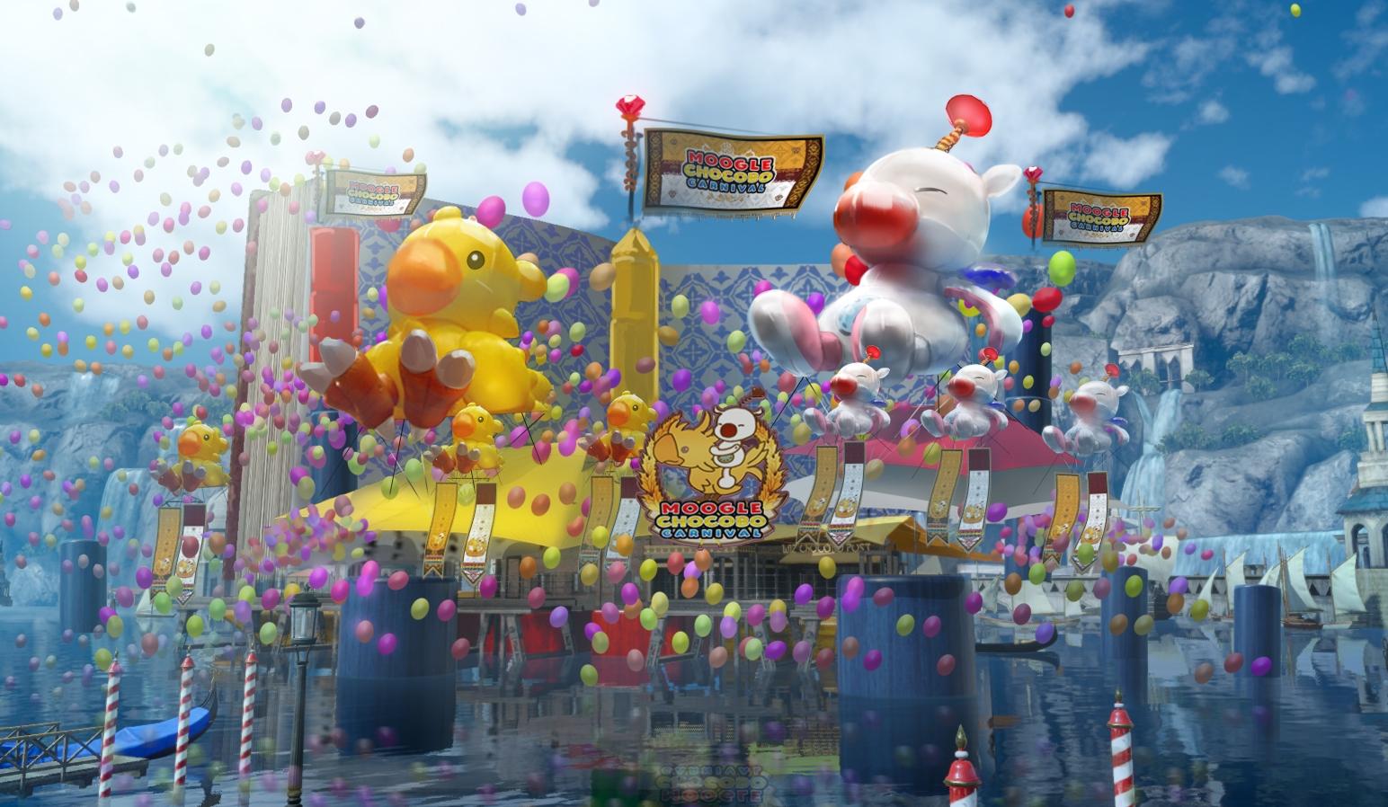 Final Fantasy XV - Moogle Chocobo Carnival