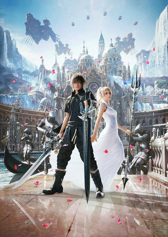 Final Fantasy XV - Noctis e Luna artkey