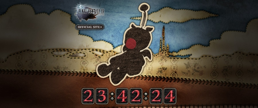 FFXV: un misterioso countdown a tema Moguri
