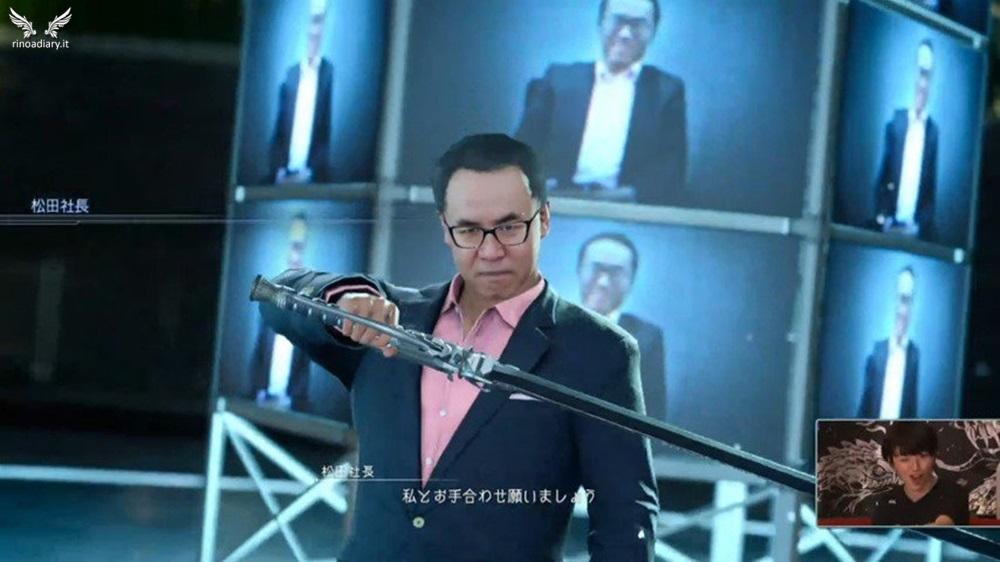 Yosuke Matsuda, CEO di Square-Enix, sbarca su Final Fantasy XV!