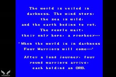 Introduzione di Final Fantasy I