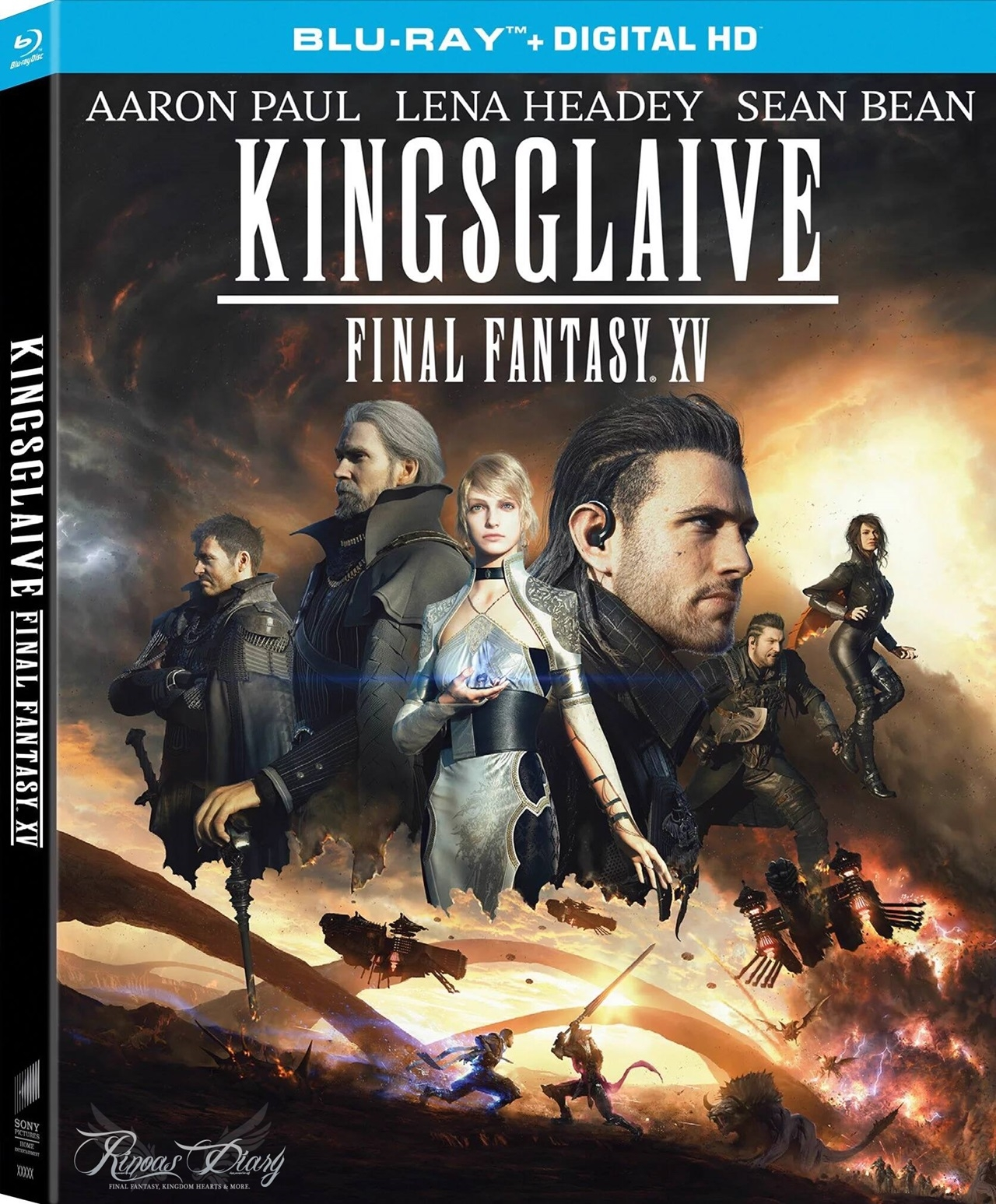 Kingsglaive Final Fantasy XV - Blu-Ray