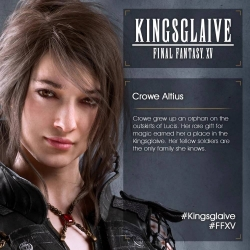 Kingsglaive Final Fantasy XV - Crowe Altius