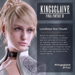 Kingsglaive Final Fantasy XV - Lunafreya Nox Fleuret