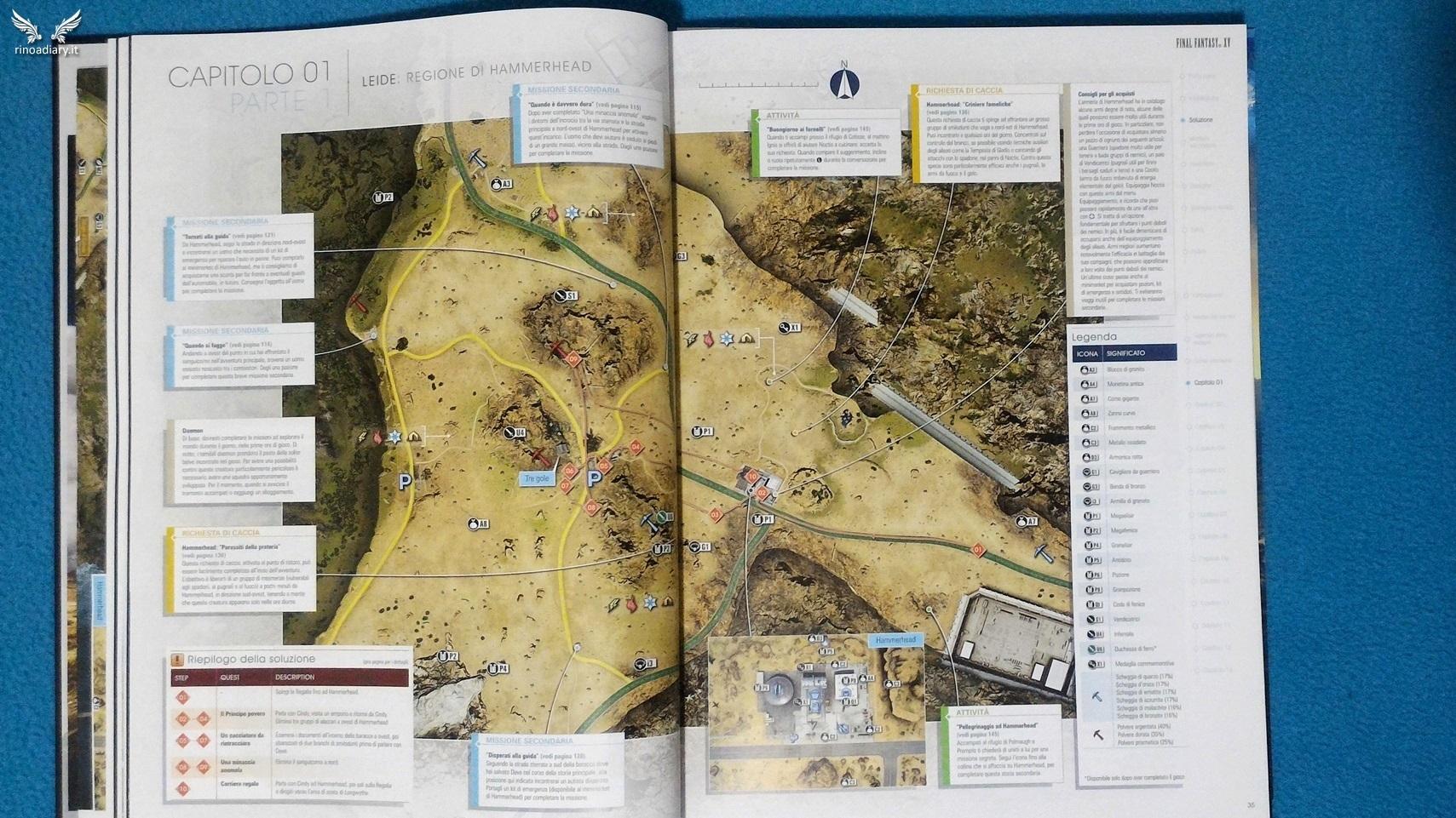 Guida Ufficiale Strategica di Final Fantasy XV - Edizione da Collezione #6
