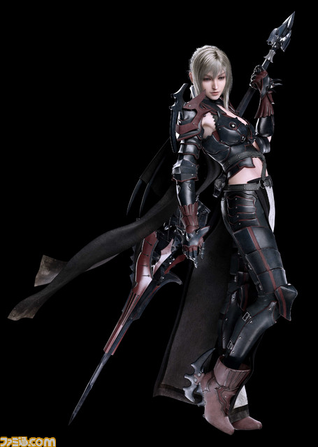 Final Fantasy XV: render di Aranea