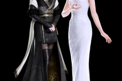 Final Fantasy XV: render di Gentiana e Lunafreya