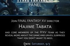 PAX West 2016 - Tabata panel