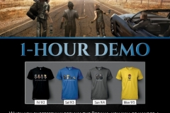 PAX West 2016 - Le T-shirt in regalo per chi proverà la demo