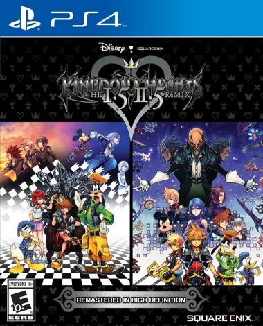 Cover ufficiale di Kingdom Hearts 1.5 + 2.5 HD