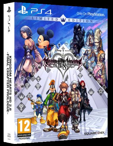 Cover Europea di Kingdom Hearts 2.8 HD Limited Edition