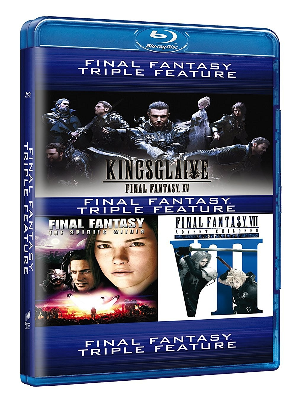 Final Fantasy Triple Feature - il Blu-Ray pubblicato da Amazon