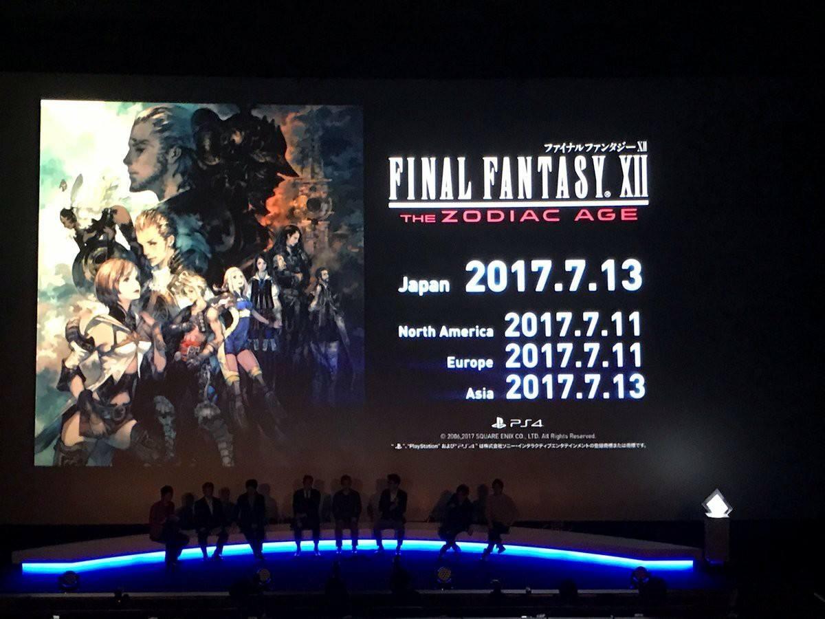 Le date di release di Final Fantasy XII: The Zodiac Age!