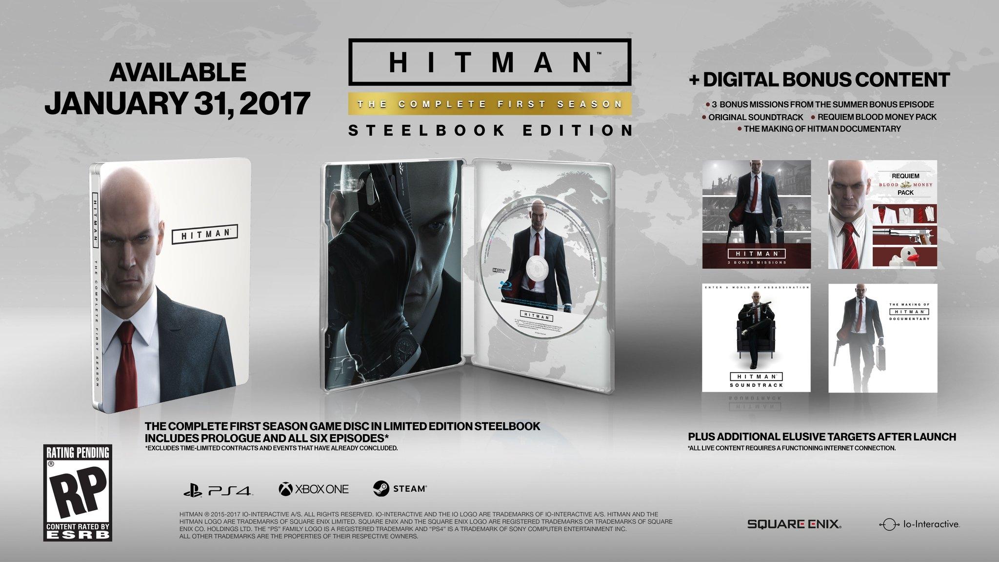 Hitman - Steelbook Edition