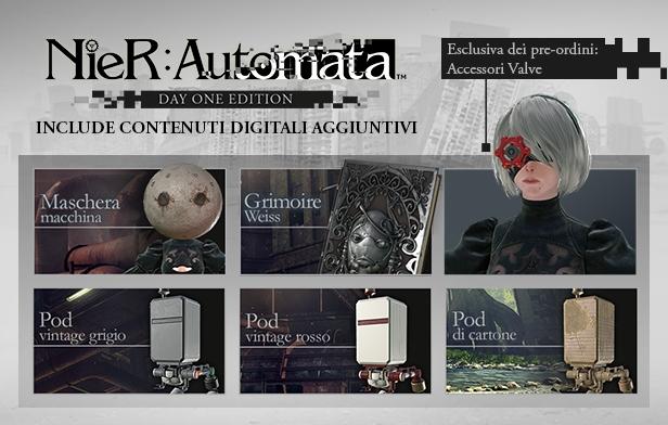 Day One Edition (PC) di NieR: Automata